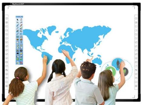 IQ board interaktyvios lentos