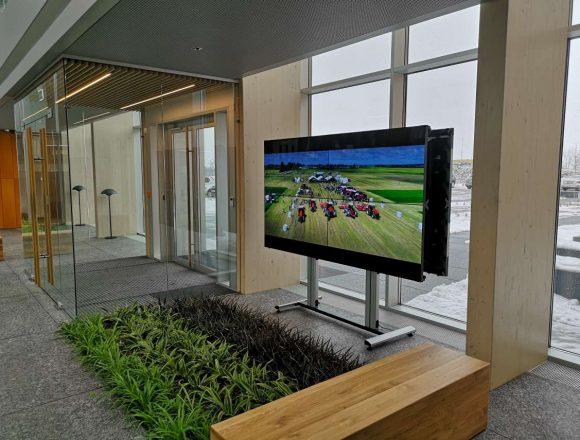 Agrokoncerno laukiamojo video siena